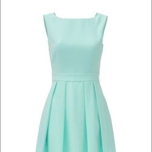 Kate Spade Mint Bow Back Dress